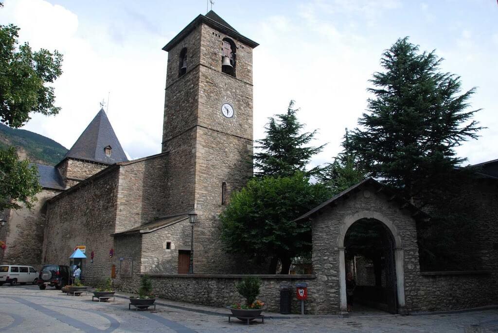 Benasque Iglesia