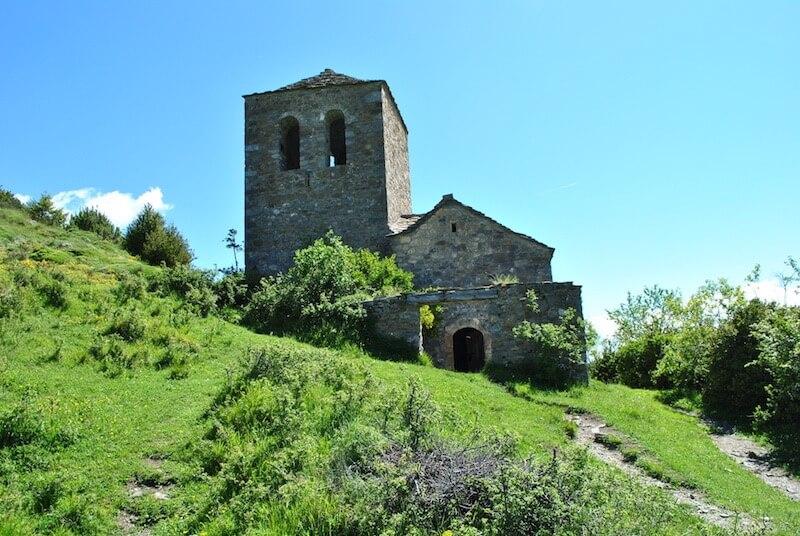 Ermita de Nuestra Señora de Fajanillas en Tella