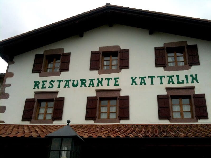 Restaurante Kattalin en Zugarramurdi