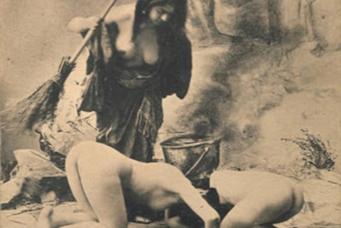 Las doce Brujas desnudas de Olsón