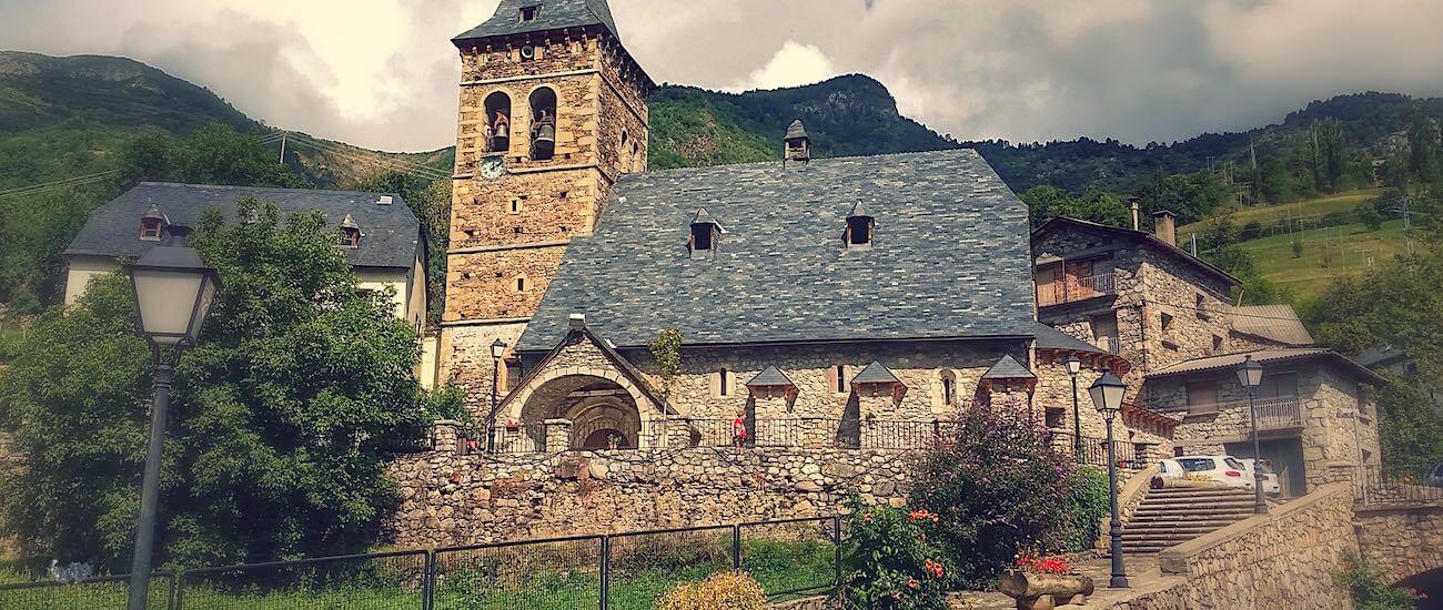 Vistas de la Iglesia de Plan