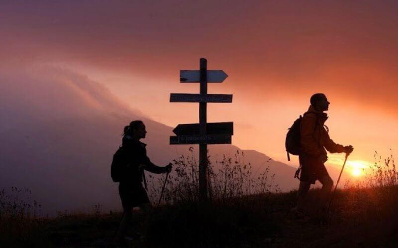 Imagen espectacular de los pirineos