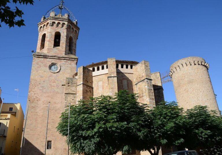 Iglesia de Santa María de Valldeflors en Tremp