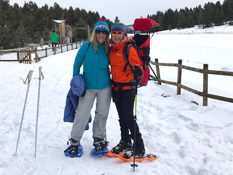 Raquetas de Nieve en la Molina