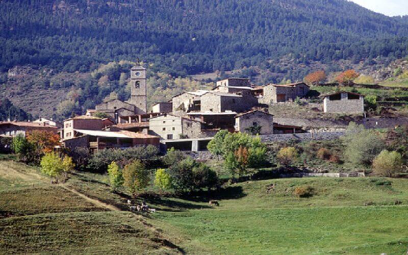 Pueblo de Aransà
