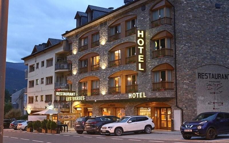 Hotel les Brasses Donde Dormir en Sort