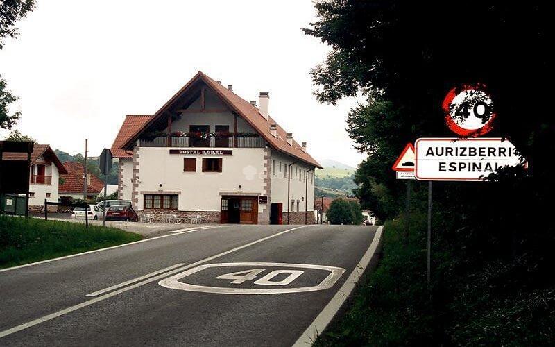 Hostal Rural Haizea Donde Dormir en Auritz Burguete