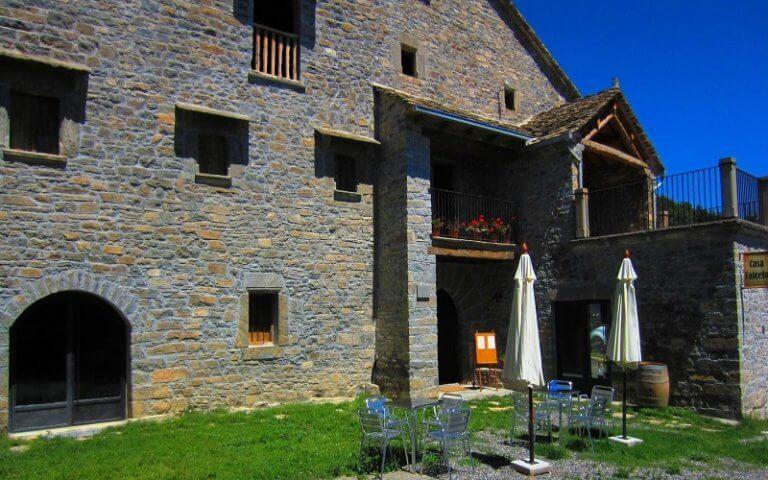 Restaurante Casa Falceto Donde Comer en Ainsa