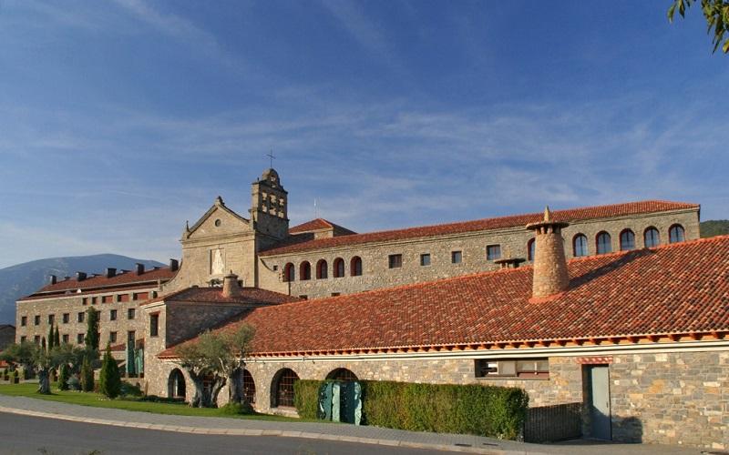 Monasterio Virgen del Carmen en Boltana