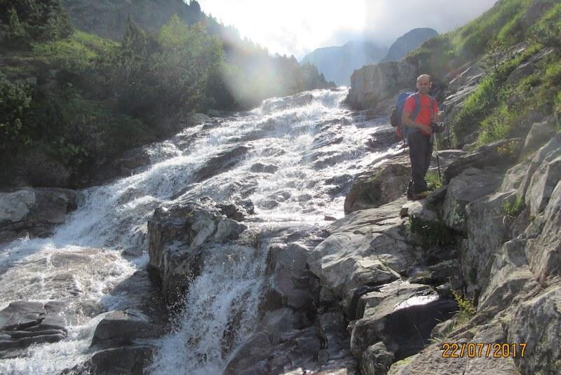 Remontando río Pico de Sotllo