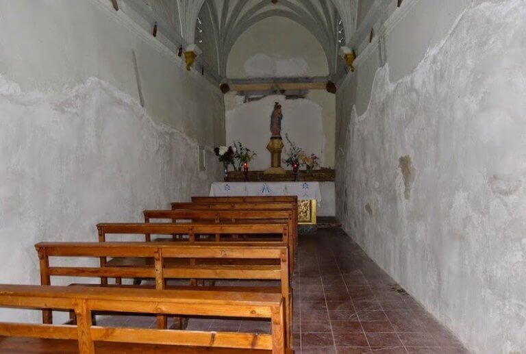 Ermita de Nuestra Señora de las Nieves en Alquézar