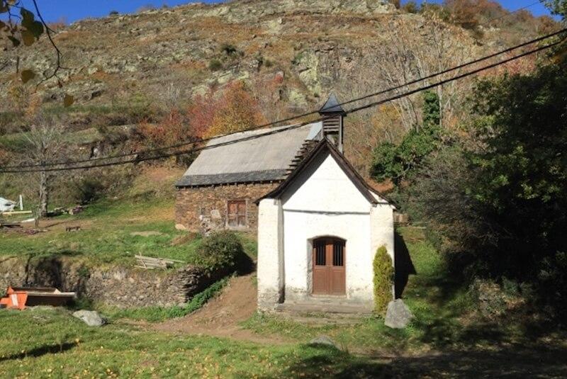 Ermita de Sant Roc en Bausen