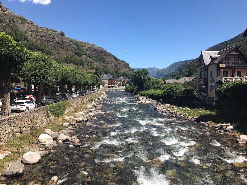 Río Garona Valle de Arán