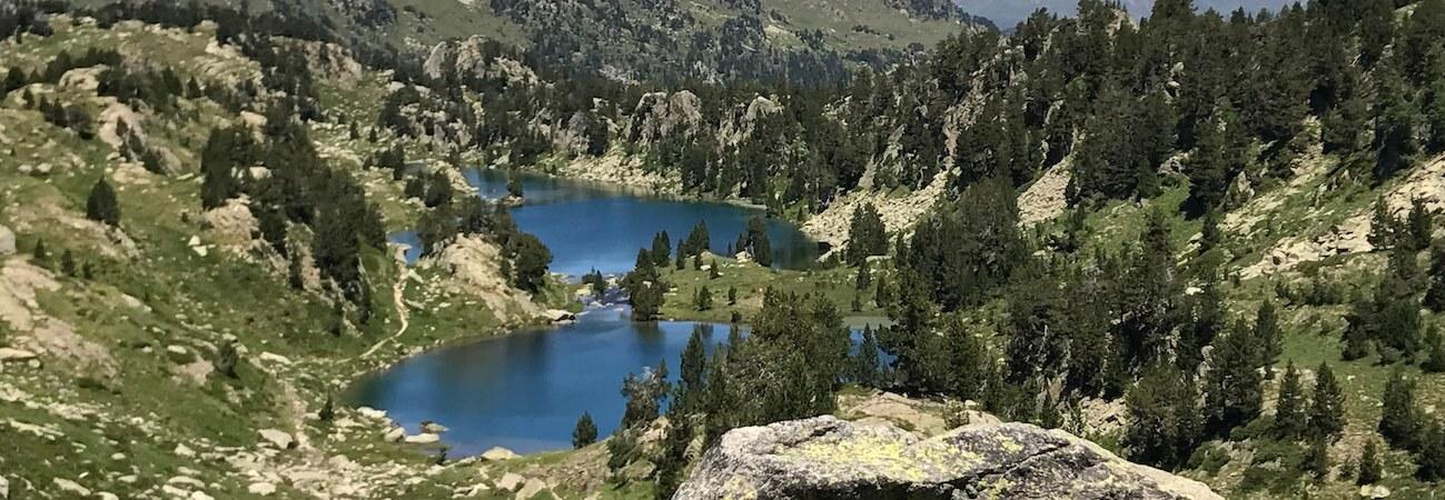 Resultado de imagen de ruta de los 7 lagos vielha