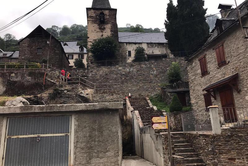 Vistas pueblo de Bausen