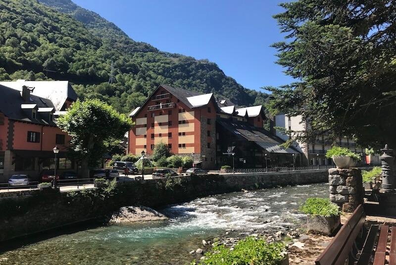 Les pueblo de la Vall d'Arán