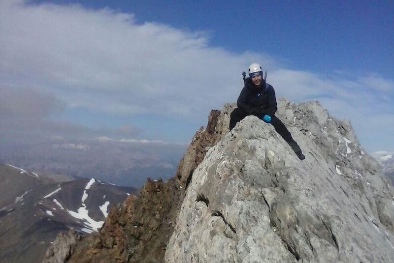 Paso de Caballo Pico Vallibierna y Tuca de les Culebres