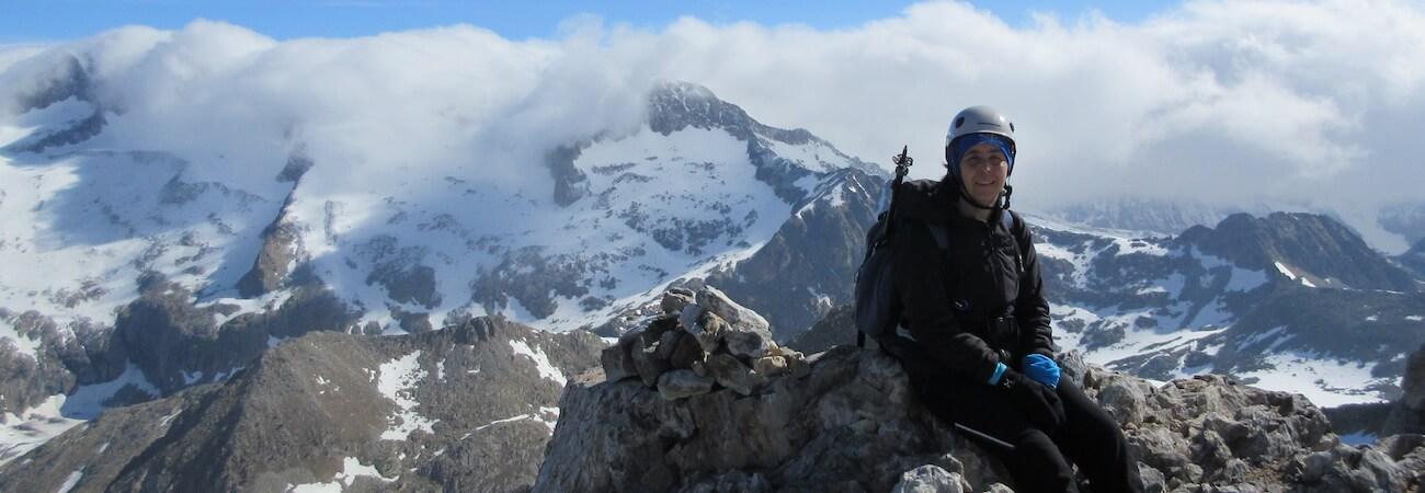 Pico Vallibierna y Tuca de les Culebres