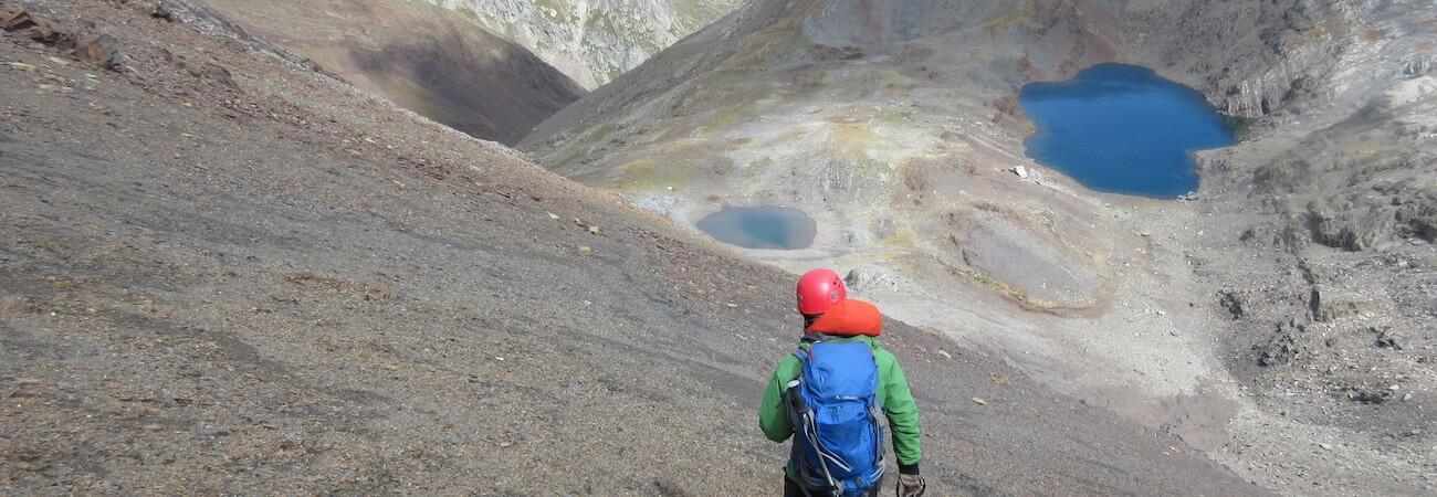 Descenso del Pico Veteranos