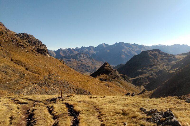 Ascendiendo por el Barranco de Culivillas dirección Pico Anayet