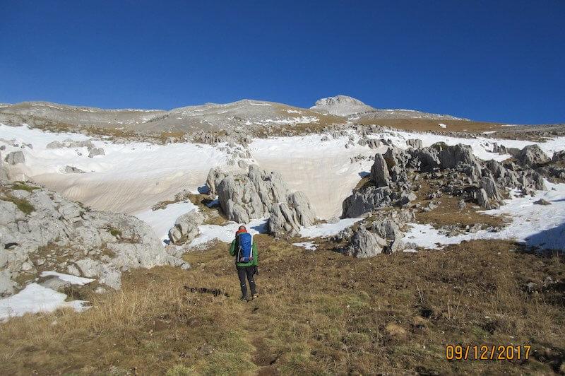 isla dolmenes - Ruta Collarada Pirineo Aragonés