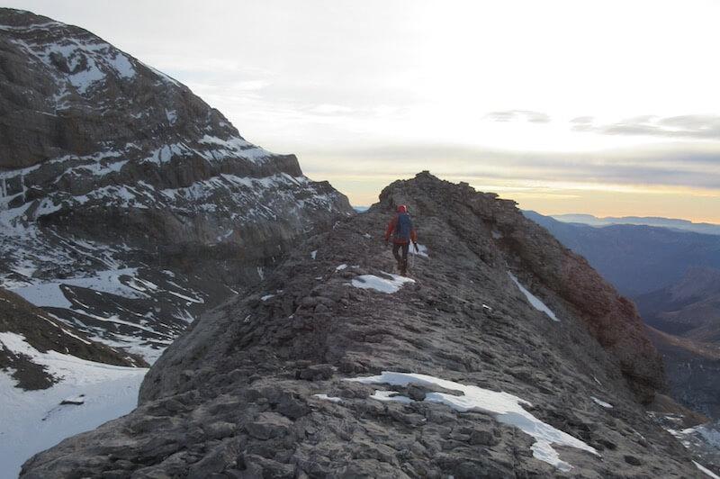 cresta ruta Pico Añisclo