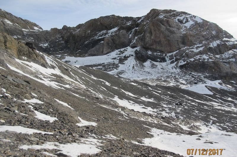 bajada al glaciar del añisclo - Ruta Pico Añisclo