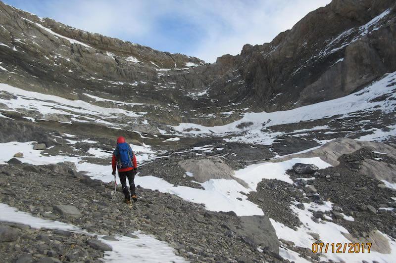 circo glaciar del añisclo - Ruta Pico Añisclo