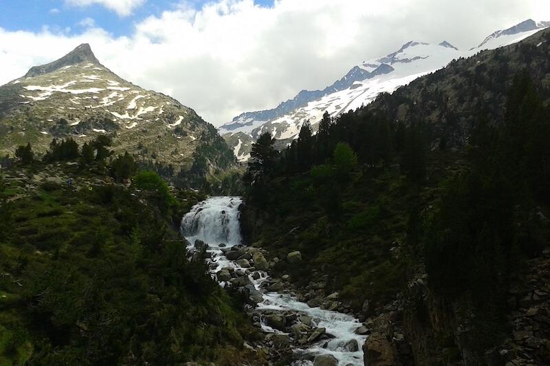 fotografía de la Cascada de Aigualluts
