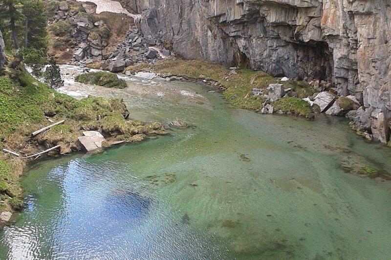 El Forau de Aigualluts donde desaparecen las aguas