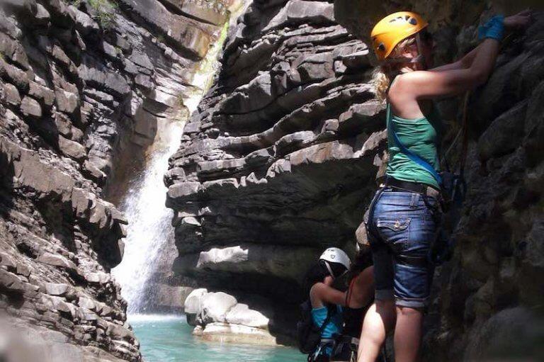 Vía Ferrata Cascada de Sorrosal - Broto