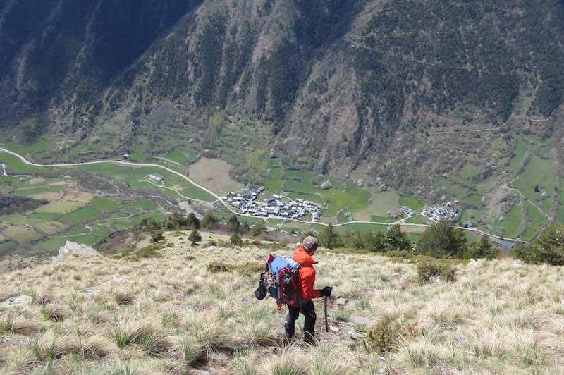 Bajada Pic Monteixo