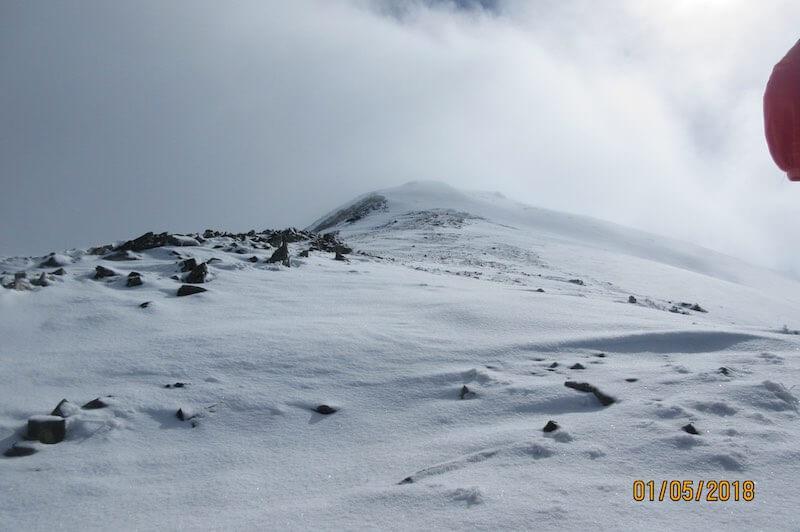 Falsa Cima ascensión Pic Monteixo