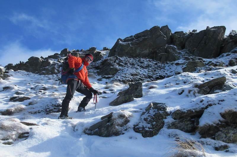 Tramo por la sierra del Pico Monteixo