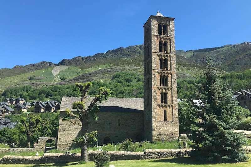 Fotografía de la Iglesia Románica Sant Climent de Taüll