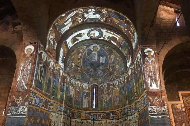 Fotografía del Pantocrator sant climent de Taüll