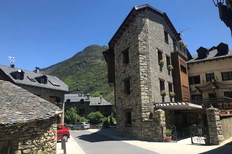 Calles de Erill la Vall Vall de Boí