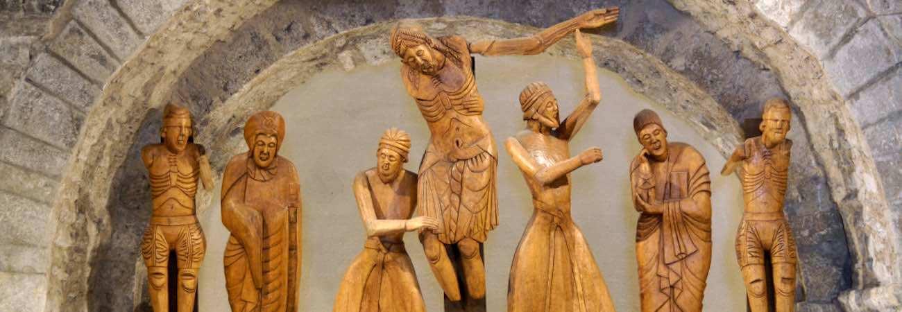 Descendimiento de la cruz de la Iglesia Santa Eulalia de Erill la Vall