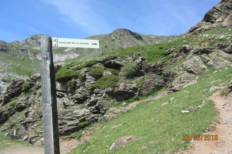 Inicio ruta Pico Robiñera