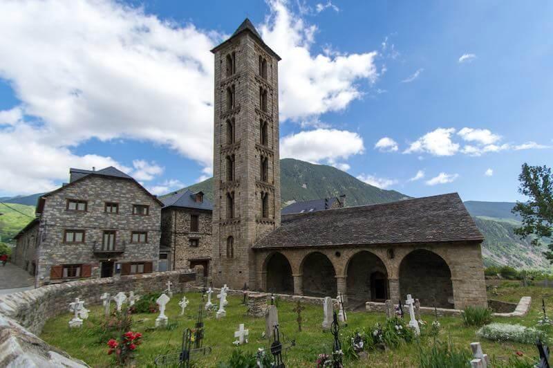 Resultado de imagen de Santa Eulalia de Erill-la-Vall