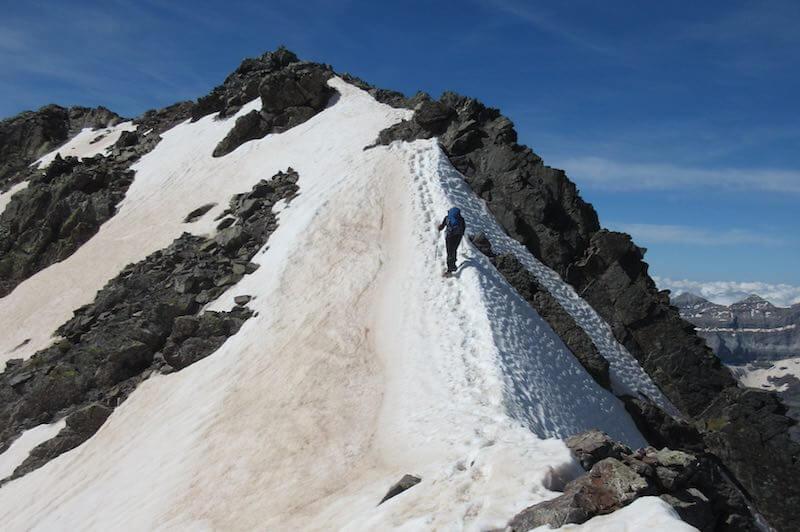 Regreso Cresta Pico Robiñera