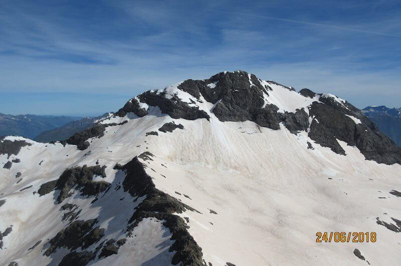 Vistas a la Munia desde Pico Robiñera