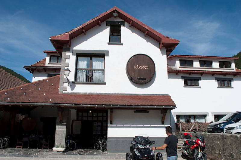 Restaurante Kixkia en Ochavía