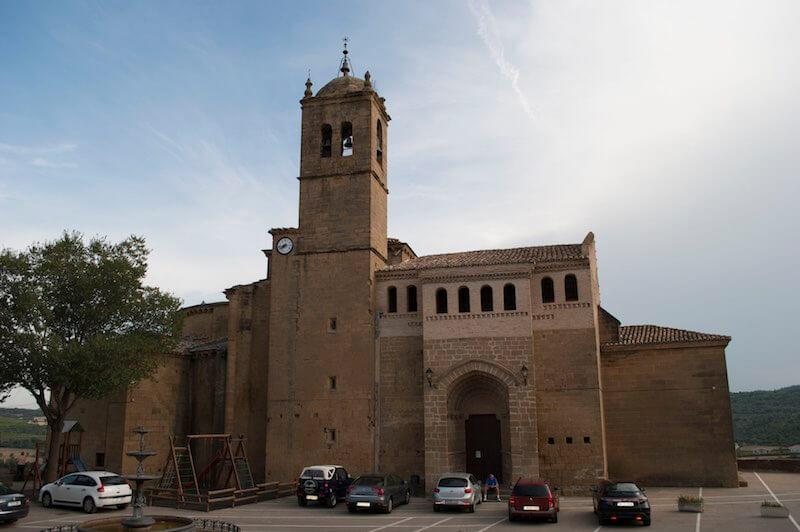 Iglesia de San Salvador en Murillo de Gallego