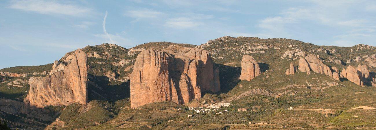 Los Mallos de Riglos Hoya de Huesca Pirineos