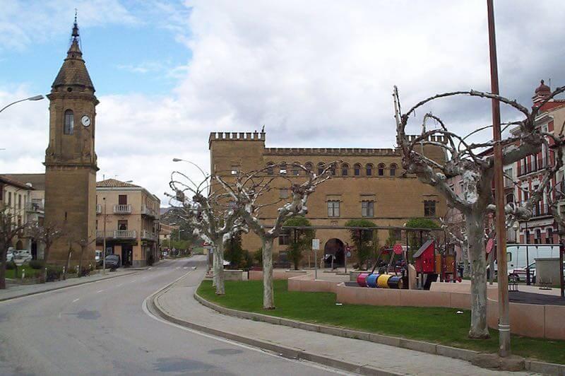 Plaza de Ayerbe la Hoya de Huesca