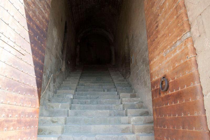 Escaleras Castillo de Loarre la Hoya de Huesca
