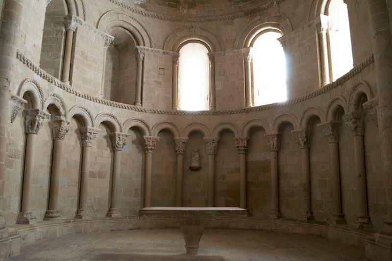 Iglesia de San Pedro en el Castillo de Loarre