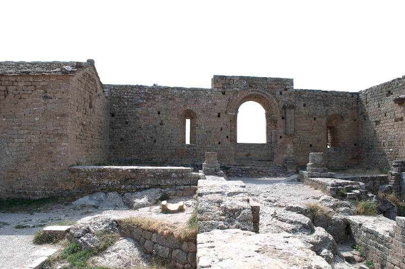 Patio de Armas Castillo de Loarre