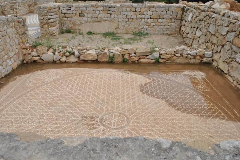 Domus de los mosiacos Ruinas Romanas de Empuries